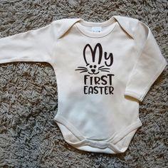 Mein Erstes Oster Jungen Personalisiert Süßes Baby Strampler Body