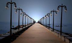 The Beypore Beach Bridge by Indian Tourist Place