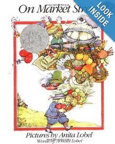 On Market Street: Arnold Lobel, Anita Lobel: 9780688087456: Amazon.com: Books