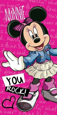 Skin Tutorial and Ideas Mickey Mouse E Amigos, Mickey Mouse And Friends, Mickey Minnie Mouse, Mickey Mouse Wallpaper, Disney Phone Wallpaper, Cartoon Wallpaper, Walt Disney, Disney Art, Minnie Mouse Drawing