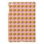 Cute Smiling Jack O Lantern Pumpkin iPad Mini Case #halloween #happyhalloween #halloweenparty #halloweenmakeup #halloweencostume