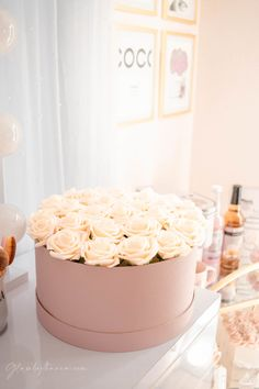 Pink Walk in Closet & Beauty Room Reveal Teen Bedroom Designs, Closet Designs, Bedroom Ideas, Bedroom Decor, Cube Storage Shelves, Closet Storage, Storage Ideas, Chanel Inspired Room, Bathroom Makeup Storage