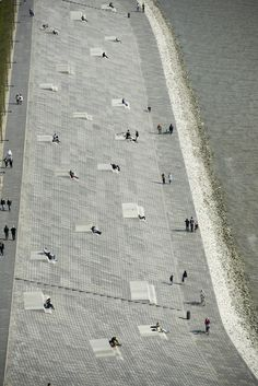 Willy-Brandt-Platz and Weser Dyke in Bremerhaven's 'Havenwelten' | Bremerhaven | Germany | Waterfront 2015 | WAN Awards
