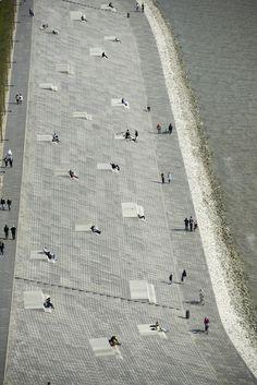Willy-Brandt-Platz and Weser Dyke in Bremerhaven's 'Havenwelten'   Bremerhaven   Germany   Waterfront 2015   WAN Awards