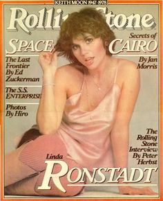 Linda Ronstadt - Rolling Stone Magazine [United States] (19 October 1978)