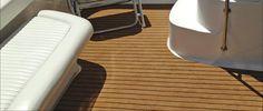 Teak snap in carpet on a customer's boat