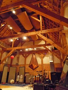 Applehead Recording Studio. Who wouldn't want to record music in this space.