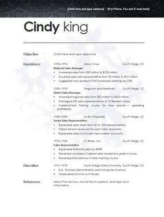 7 Best Resume Template Open Office images | Sample resume, Best ...
