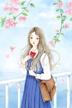 Anime Chibi, Anime Art, Miniature Photography, Cute Cartoon Girl, Chibi Girl, Anime Angel, Cartoon Wallpaper, Kawaii Girl, Cute Illustration