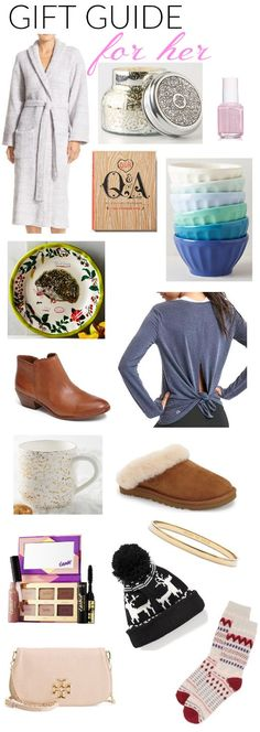 Gift Guide for her! Lots of great gift ideas for the ladies - or for your own wishlist! | Holiday Gifts for Women | Christmas Gifts for Her | Christmas Gifts for Women | Holiday Gifts for Her || Katie Did What