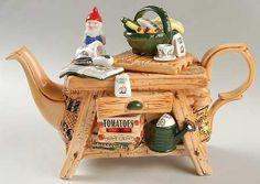 Potting Bench Teapot