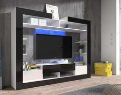Prostor plný moderního designu vám směle dopřeje obývací stěna Sek. Již od pohledu poutavé provedení náramně koresponduje se zvoleným dekorem bílé a černé...