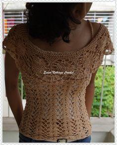 Sweet Nothings Crochet Off The Shoulders Top