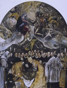 El Greco,Burial of Count Orgaz, 1586 Things to think about when...