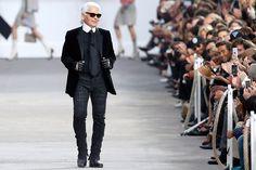"""""""Paris Fashion Week: Karl Lagerfeld erschuf für Chanel und Frühjahr/Sommer 2014 ein"""