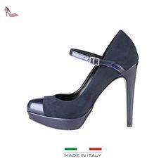87b476f9de67a V 1969 LAURALIE BLU  Amazon.fr  Chaussures et Sacs