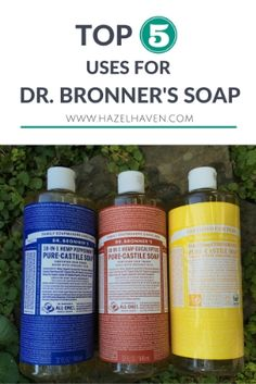 Hey friends! I hope each of you are doing well and having a great  week.Have you ever heard of Dr. Bronner's Castile Soapsbefore?  If you shop at Trader Joe's, Target, Whole Foods or an organic grocery  store, I'm sure that you have seen these 18-in-1 Pure Castile Soaps.   I was first introduced to Dr. Bronner's Castile Soapswhen I was in  college. I remember having a couple of friends who swore by this organic  hemp soap and over the years I have come to realize why.  I LOVE this…