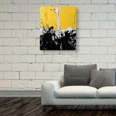 Canvas wall art Ostrich safari art Wilderness by NaamaSegalArt