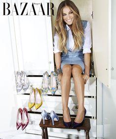 Número de Diciembre deHarper´s Bazaar Arabia, editorial deSarah…