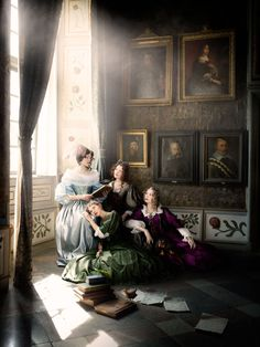 Scenes from 17th century Skokloster Slott castle recreated -repinned by Los Angeles County, California photography studio http://LinneaLenkus.com  #photographers