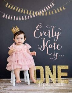 Baby photographer one year birthday session upland photograp One Year Birthday, Girl First Birthday, Baby Birthday, Birthday Ideas, Book Bebe, Foto Newborn, 1st Birthday Photoshoot, 1st Birthday Pictures, First Year Photos