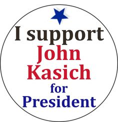 Items similar to I support John Kasich for President - Vote 2016 USA Republican Campaign Election Pinback Button Badge Pin Magnet Keychain on Etsy Vote 2016, John Kasich, 2016 Presidential Election, Button Badge, Helping Others, Presidents, Campaign, Politics, Quotes