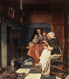 The Chess Players - Cornelis de Man
