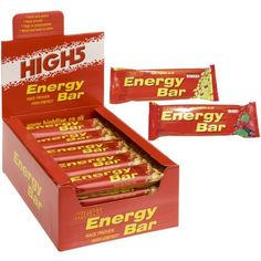 High 5 Energybar Bars Wild Berry 25x60g