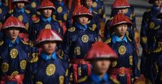 26 beautiful photos from Lunar New Year celebrations around the globe: In Beijing, performers dressed as imperial guards rehearse for a Lunar New Year ceremony.