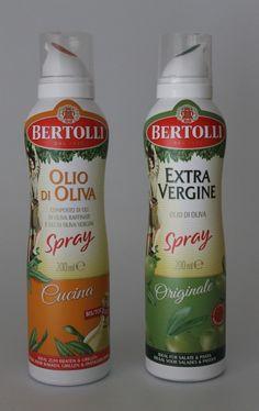 Bertolli Olivenöl-Sprays Bertolli Spray Olio di Oliva Cucina und Bertolli Spray Extra Vergine Originale