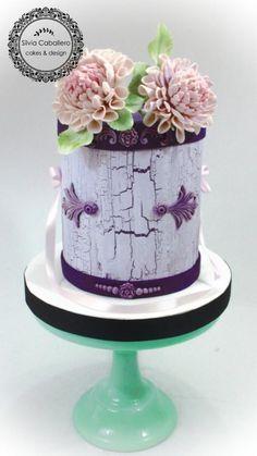 40th birthday cake by Silvia Caballero