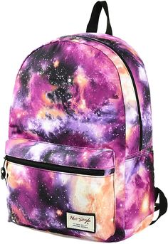 Back to school backpacks for girls galaxy backpack cute unique kids backpacks Cute Backpacks For School, Cool Backpacks, Backpacks For Kids, Mochila Galaxy, Backpack Bags, Fashion Backpack, Grafea Backpack, Galaxy Backpack, Galaxy Pattern