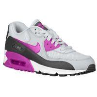Nike Air Max 90 - Women's - Grey / Purple