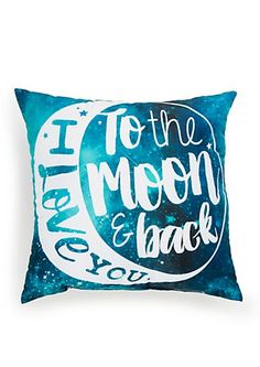 Galaxy Love Pillow | rue21