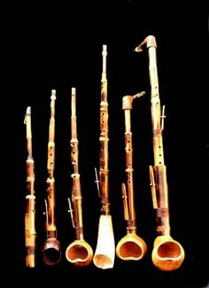 Bamboo Saxophones, the most mento of instruments