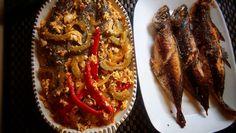 Fried Fish and Sarciadong Ampalaya  https://youtu.be/qSlESMXPp9g