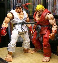 Street Fighter NECA