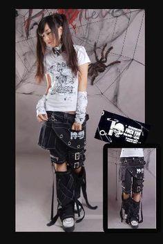 Unisex Classic Punk Kera Rock Fashion Visual Kei Unisex Pants Trousers s XXL   eBay