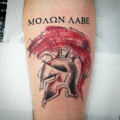 65 Legendary Spartan Tattoo Ideas - Discover The Meaning Behind These Power Images Check more at http://tattoo-journal.com/best-spartan-tattoos/