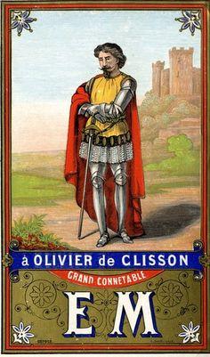 17 de 18 - à Olivier de Clisson