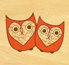 Owl Lover 2013 free calendar (you get choose the images you want to use... so cool!)@Kelcey Torres