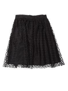Lace Overlay Skirt $55