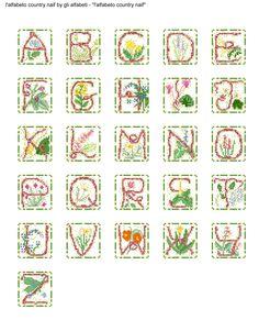 alfabeto country naif