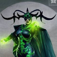 Hela, Goddess of Death, by BelleChere, photo by Michael Mac Photography.