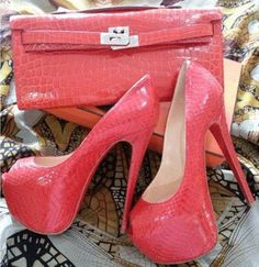 Cool Show Red Patent Leather High Heel Shoes #fashion #shoes #heels