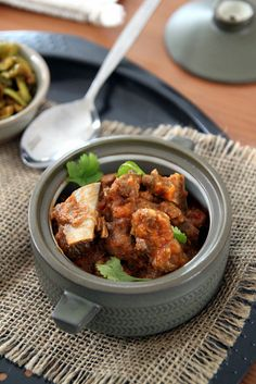 red curry mutton
