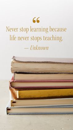 """""""Never stop learning because life never stops teaching."""" --Unknown #MotivtionalMonday What Does Serenity Mean, Finding Inner Peace, Catalog Cover, Never Stop Learning, Self Acceptance, Garnet, Zip Around Wallet, Card Holder, Teaching"""