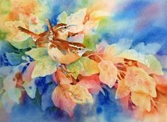 """Watercolor Painting Techniques for Leaves 