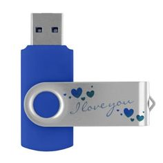 I love you USB Flash Drive by DAL - love gifts cyo personalize diy