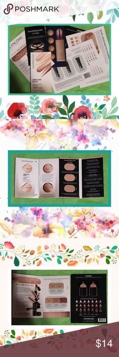 """Lot of 7 Premium Foundation Samples 7 brand new high-end foundation samples for every skin tone.Please see pictures for details.   ✅If you'd like to purchase just this lot,please use """"buy now"""" or make me a reasonable offer.Bundle 3 for a 10% discount.Bundle 2+totaling $25+ for a private bundle discount. Firm price listings are ineligible for offers or bundle discounts ✅  💟Thank you for respecting these terms💟  I add free samples to every beauty order and GWP with qualifying orders. Sorry…"""